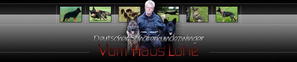 Deutscher Schäferhundzwinger vom Haus Lohe
